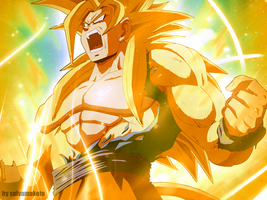 mi super saiyan god remasterizado by salvamakoto