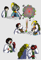 For Science page 1 by Tomek1000