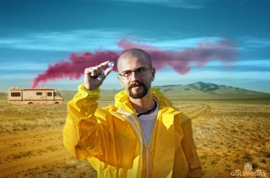 Breaking Bad Cosplay - Purest Product by StevenCojo