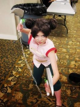 Battle Ready-Tenten OMGcon 2013 by Heidirae1