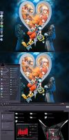 Cool Kingdom Hearts Desktop by carlusdarienus