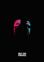 Only God Forgives Minimalist Poster by Circusbrendan