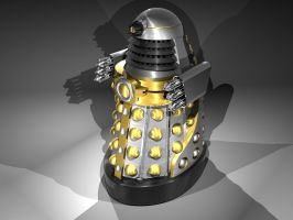 Imperial guard dalek by Slythenperior
