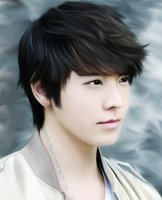 Donghae phone drawing by SMoran
