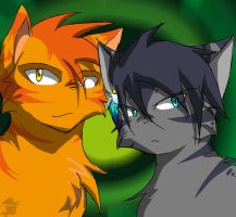 Jay and Flame - P.O.M. by WoLfPeLt102