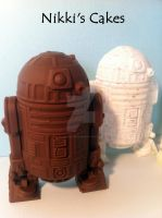 Milk Chocolate R2D2 by Corpse-Queen