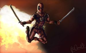 Deadpool by Wavelmo