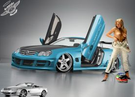 MERCEDES SL by Alesstyle DSGN by TheAlessandro