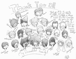 All of my Wonderful Friends by DeathNugget-Afro