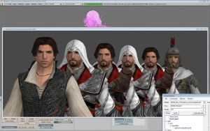 Ezio Pack Preview - INCOMPLETE by raccooncitizen