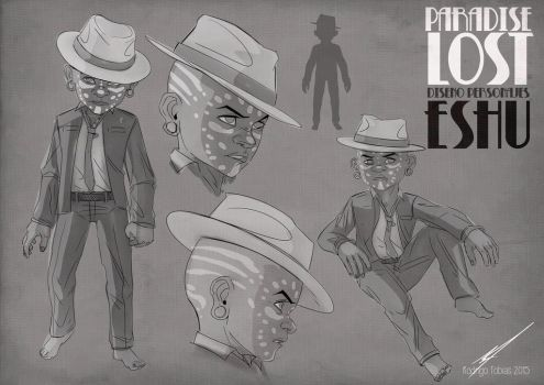 Paradise Lost Comic Project Character Desing-06 by RodrigoTobias