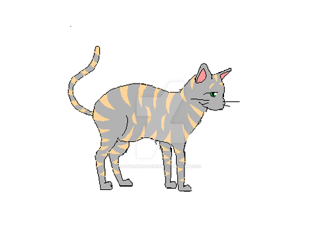Striped Cat by Stormshadow358