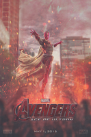 Avengers: Age of Ultron (Vision) | Poster by Squiddytron