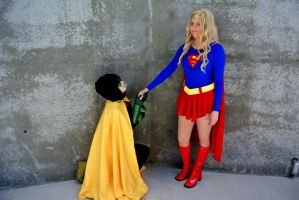 RobinxSupergirl: The Proposal by kay-sama