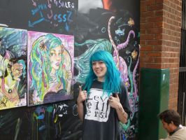 Jess-Z and Faye at Hull Freedom Festival by Cavyman
