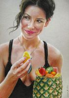 "Evangeline Lilly as ""Kate"" in LOST 1 by LMan-Artwork"