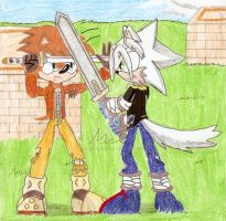 RQ: Swordtraining by MrSoniccloud