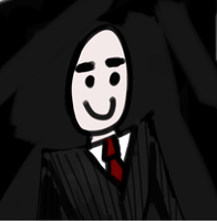 Agent Slenderman in Pinstripe by Delnum