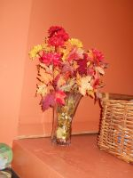 Fall Themed flowers by 68cupcake