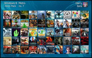 Windows 8 Metro Aicon Pack 7 by HarryBana