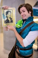 Flynn Rider Cosplay Anime Expo by Chingrish