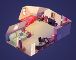 My old room by sarakuan