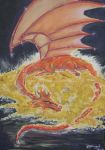 The Dragon in his Lair by Jezhawk