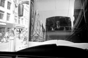 The driver of the next tram by steppeland