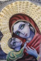 balkan madonna and child by cannibol