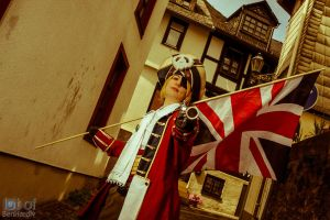 Hetalia ( Arthur Kirkland Pirate Version ) by Op-2