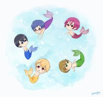 FREE! Under the Sea~ by smera