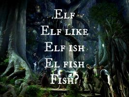 How Closely Related Are Elves And Fish by nerdhope