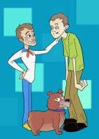 Scooby Style Family Portrait by biggins23
