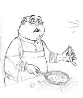 Inexperienced chef by GuillermoRamirez