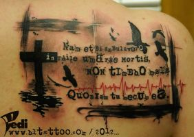 Bible lettering by Pedi