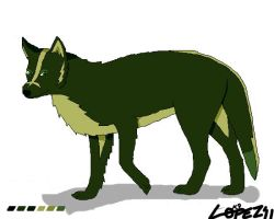 Green Wolf by k9player