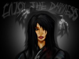 enjoy the darkness by julianx16
