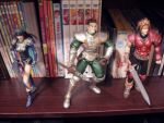 Legend of Dragoon Figures by KittyChanBB