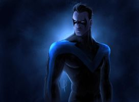 Nightwing by scissortail