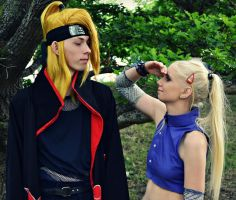 You are so tall Deidara Sama by SniperSunny