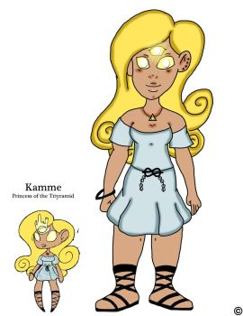 Princess Kamme by ThaMaJesticArtist