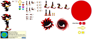 Character Builder-Shadow The Hedgehog by Kphoria