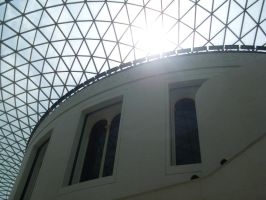 British Museum Ceiling Two by TheFlyingHeart