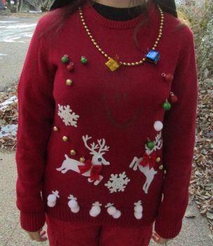 My Ugly Christmas Sweater Kit by wintercool612