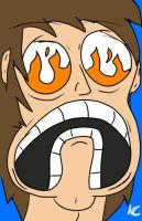 My Xbox rage face! by KotaChurch