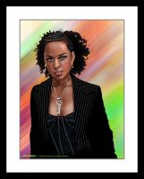 Alicia Keys by sanchezdesigns