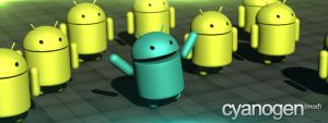 CyanogenMod -Android- Wallpaper,Banner by NcydeGFX