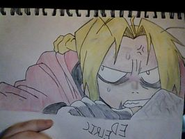 Edward Elric 30th May 2012 by GothicGloria666