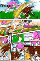 :CE: Mery VS Spike 2 of 4 by Mery-the-Hedgehog
