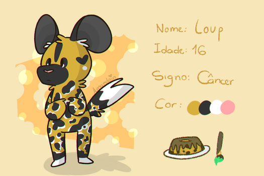 Loup, The African wild dog by Amanda3030